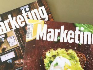 Graeme Sanford gives his views on marketing in Marketing Magazine