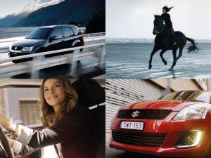 We help drive Suzuki right round the world.